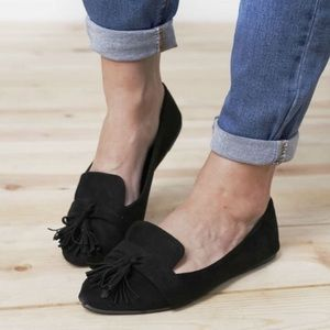 Shoes - 5⭐️BLACK TASSEL SLIP-ON pointed LOAFERS- Shoe